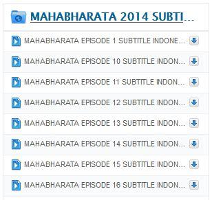unduh film mahabarata download mahabharata subtitle indonesia episode 1 20