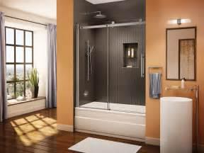 Bath Shower Glass Doors Fleurco Glass Shower Doors Novara Tub Enclosure