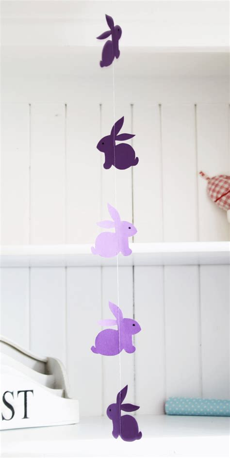 bunny garland template garlands banners and buntings on buntings