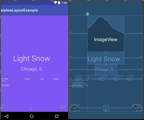 layout manager for relativelayout layout managers in android relative and constraint