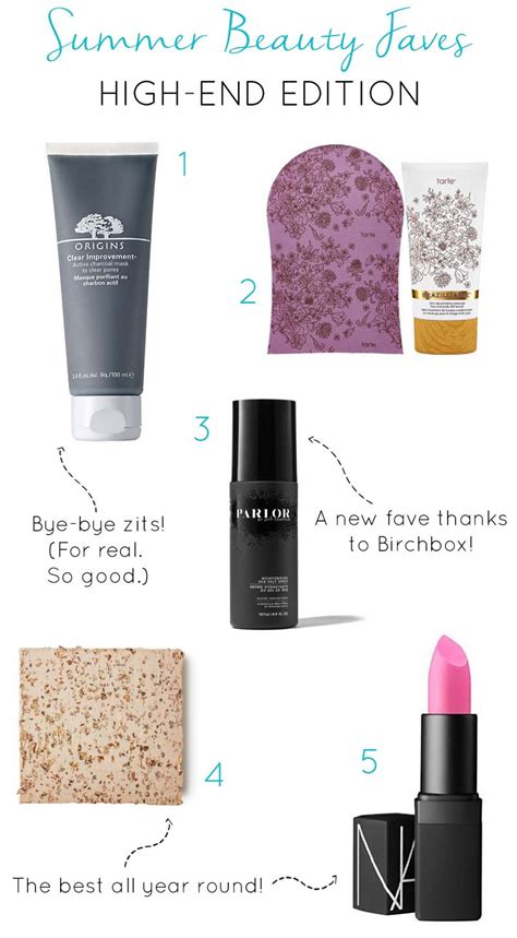 High End Summer by Summer Faves High End Edition The Clydescope