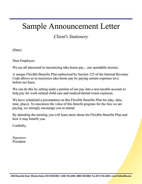 Appraisal Announcement Letter Sle Letter Of Receipt Blank Purchase Contract