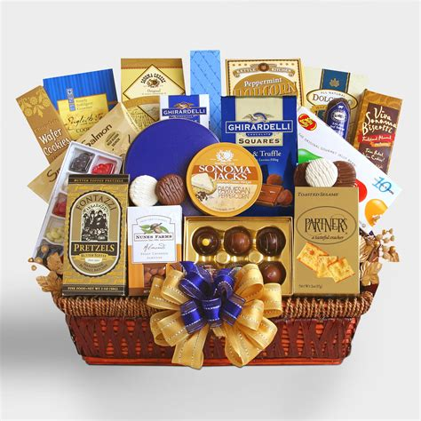 executive decision gift basket world market