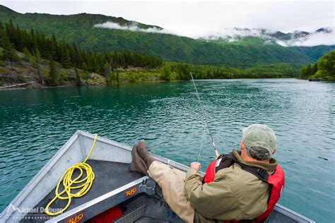 drift boat kenai river alaska rivers company guided drift boat fishing relaxing