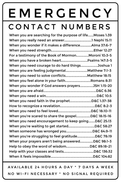 blessing of comfort lds best 25 bible emergency numbers ideas on pinterest
