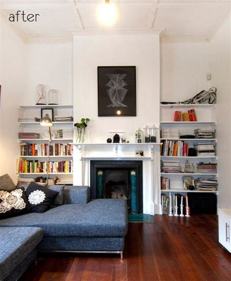 way to position sectional with fireplace that doesn t make