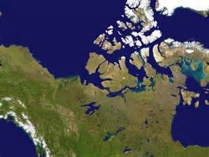 satellite maps canada