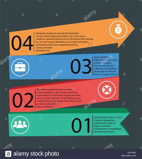 graphic design business plan template modern and simple business plan elements for infographic