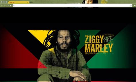 theme google chrome bob marley top music artists chrome themes for true music fans only