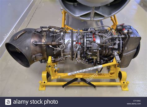 rolls royce jet engine rolls royce gnome turboshaft jet engine stock photo