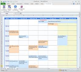 Schedule Maker Template by Weekly Calendar Maker Weekly Calendar Template