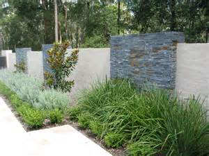 Slate Bathroom Ideas feature wall contemporary landscape sydney by