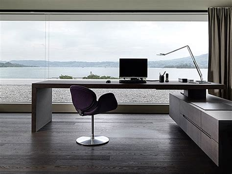 Desk For Office At Home Modern Home Office Modern House