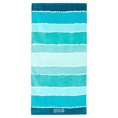my boys beach themed bathroom sand and sisal tie dye stripe beach towel pool pbteen