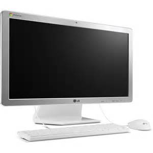 desk to computers lg chromebase 21 5 quot all in one desktop computer 22cv241 w