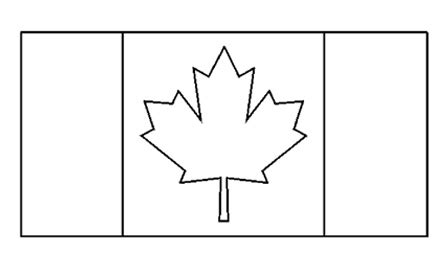 printable flags of the world black and white canadian flag free printable colouring pages