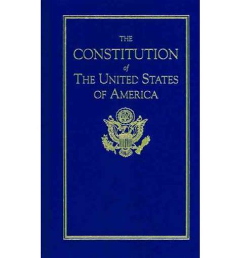 the constitution of the united states books the constitution of the united states of america