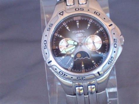 Other Watches Fossil Blue Chronograph Man S Wrist Watch