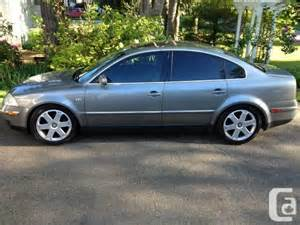 immaculate 2003 vw passat 1 8t for sale in abbotsford