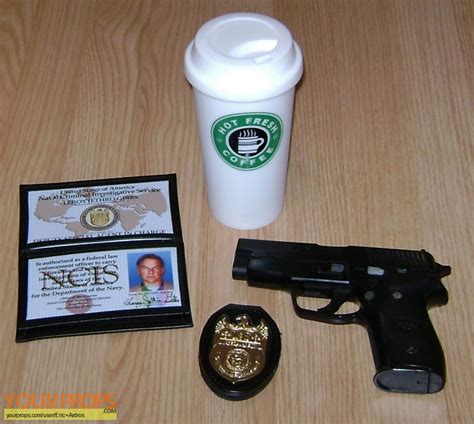 service in vest navy ncis naval criminal investigative service leroy jethro gibbs coffee cup replica