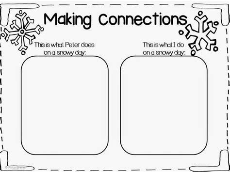 kindergarten activities book snowy day mrs bremer s class the snowy day free mini book study