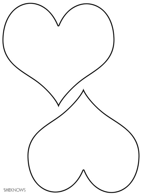 double heart coloring page free coloring pages of double hearts