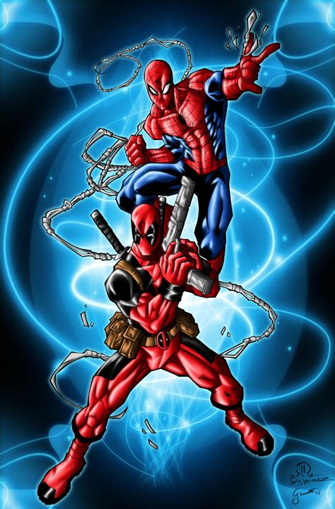 Marvel Ultimate Spider Z2464 Iphone 7 deadpool and spider wallpapers wallpapersafari