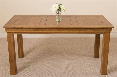 Rustic Solid Oak Dining Table Chateau Rustic Solid Oak Dining Table 150cm