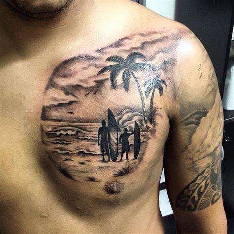 heartbeat surf tattoo surf surftattoo tattoo tatuaje tatuagem tattoosp