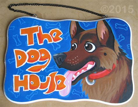 the dog house sign sign the dog house gsd weasyl