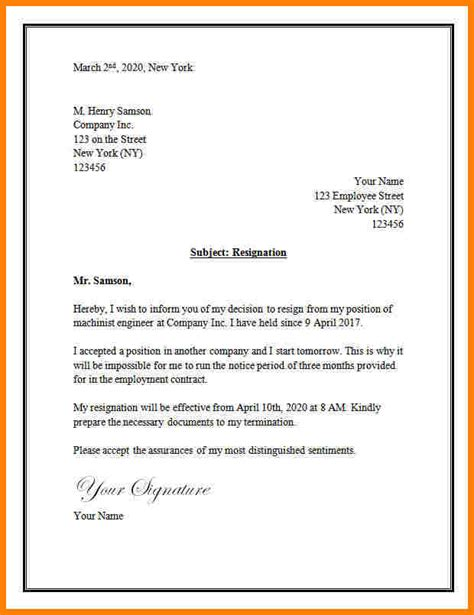 Microsoft Resignation Letter Templates Free by Word Letter Template Russianbridesglobal