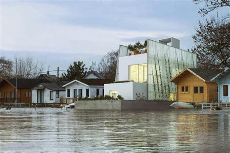 buying a house in a flood zone carl turner s floating house is a sustainable solution for flood zones inhabitat