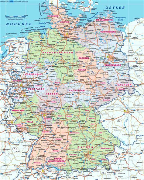 karte deutschland www deutschlandkarte