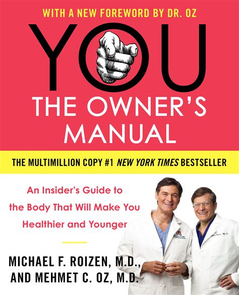 You On A Diet dr oz breaks the health basics in you the owner s