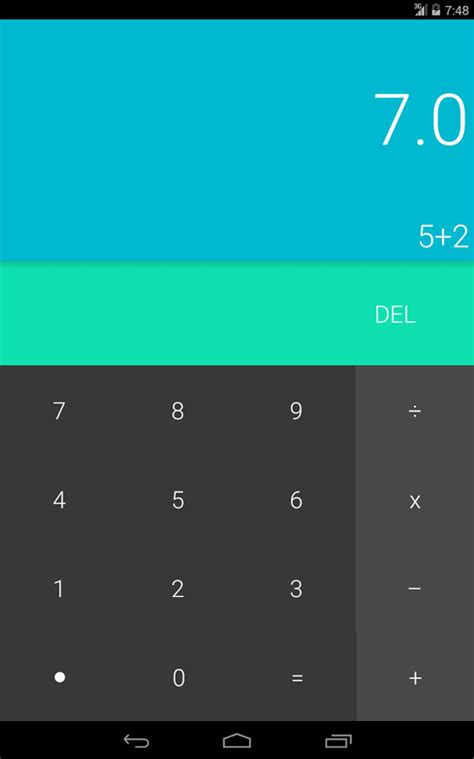 calculator app for android get android lollipop look on your smartphone with these 5 apps