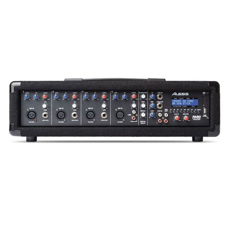Power Mixer 4 Channel Ty 555 Usb Sd Murah alesis pa system in a box at gear4music