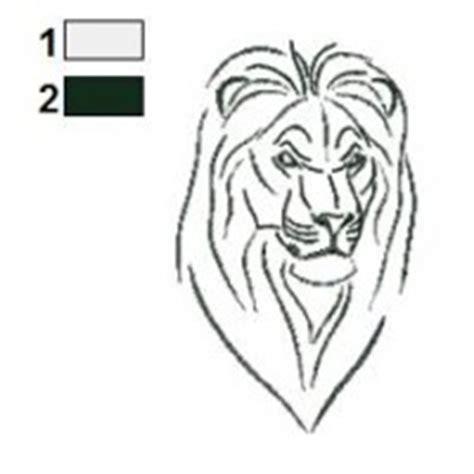 Cartoon Lion Tattoo Designs | lions tattoos embroidery designs