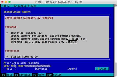 tutorial tomcat linux opensuse linux 以 yast 安裝 tomcat 8 伺服器設定教學 g t wang