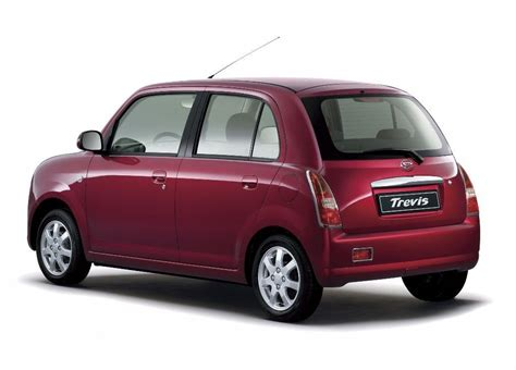 daihatsu trevis technical specifications and fuel economy