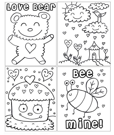 valentines coloring pages pdf new pdf printable valentine s day coloring book welcome