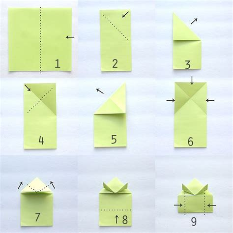 Origami Frog Template - origami jumping frogs easy folding