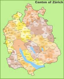 canton of z 252 rich municipality map