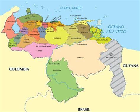 imagenes mapa venezuela mapas de venezuela mapa de venezuela con sus capitales