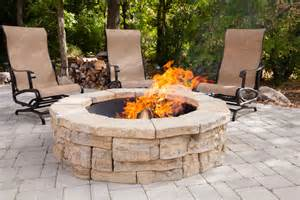 Outdoor Firepit Kit Rosetta Outdoor Pit Kit