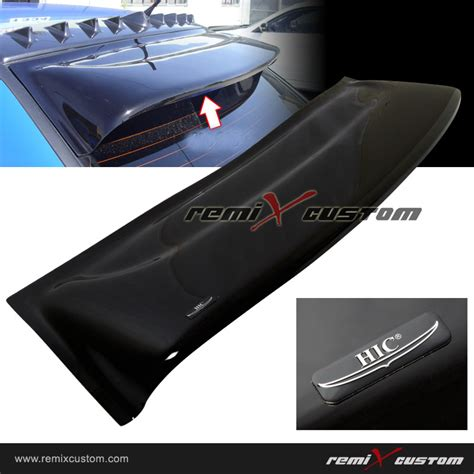 evo 3 spoiler 01 07 mitsubishi lancer evo hic rear roof window visor
