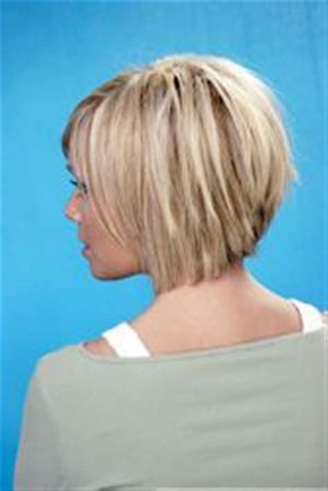 front and back views of chopped hair bing bob hairstyle back view my style pinterest