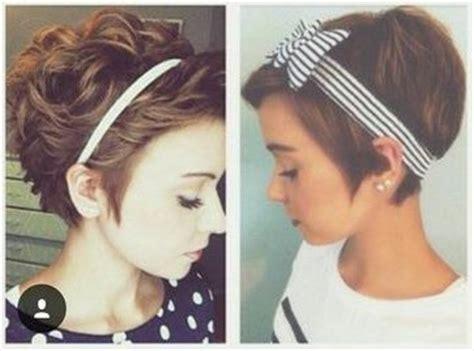 headbands on buzz cut hair 25 best ideas about pixie cut headband on pinterest