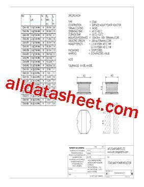 cd43 2r7 datasheet pdf ait components ltd