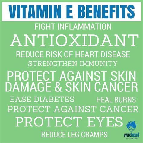 vitamin e supplement benefits vitamin e benefits waxhead sun defense