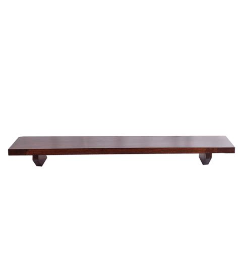 Wall Hanging Wooden Shelves Cayenne Sheesham Wood Wall Hanging Shelf By Market Finds